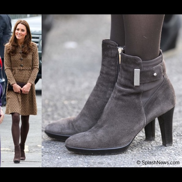 10598822dfa9 Aquatalia Shoes - Aquatalia Brown Boots Aso Kate Middleton with box